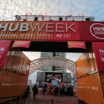 HUBweek entrance